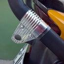 Enganche para el candado de la moto.