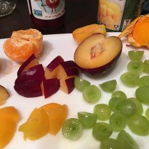 Cut Up Fruit Into Bite Size