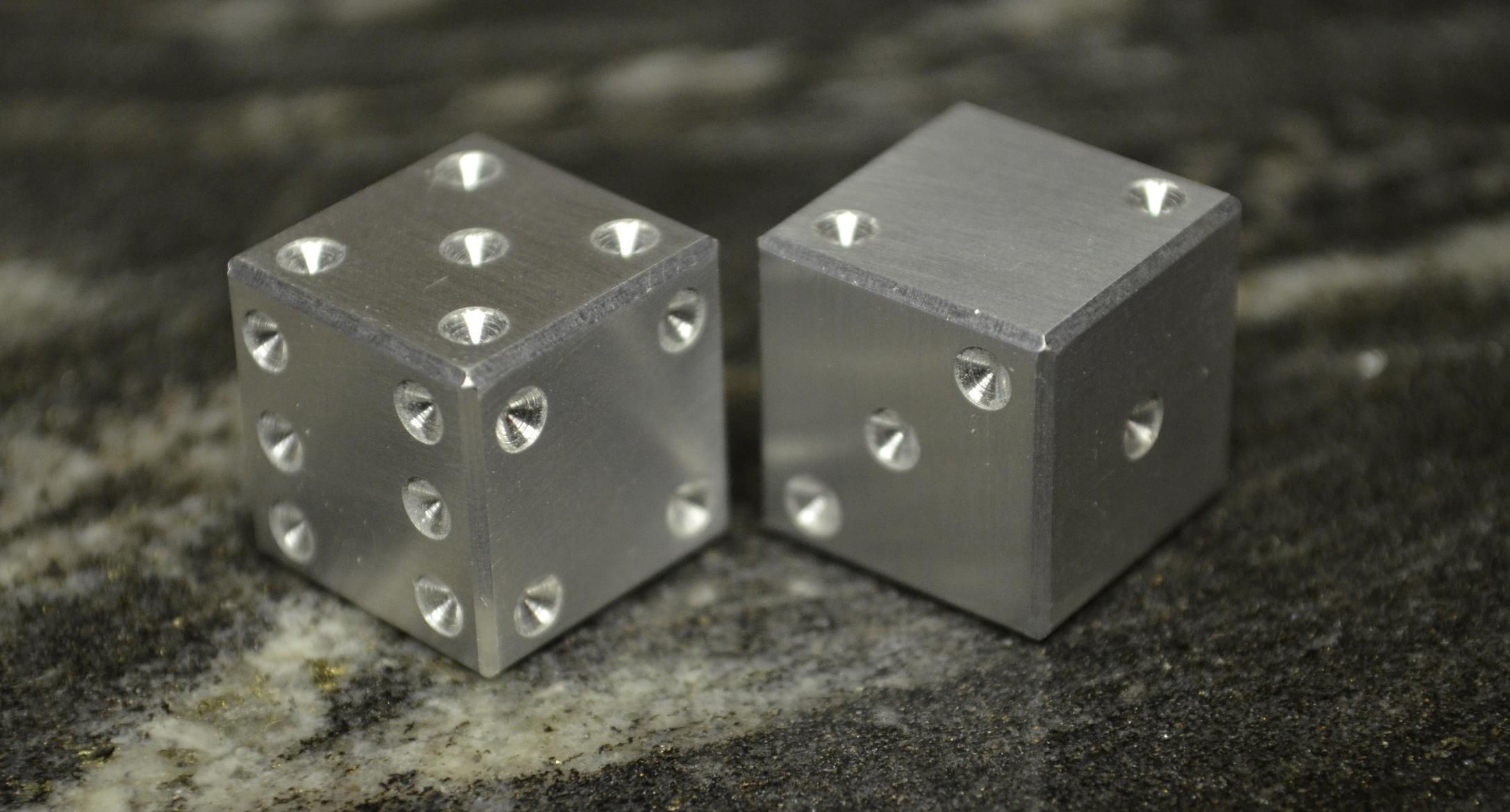 Picture of Aluminum Dice