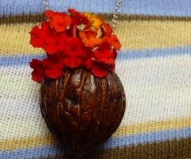 Mini Flower Pot Pendant /Bug Ring.