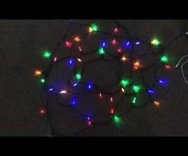 How To Make Christmas Lights Flash To Music!