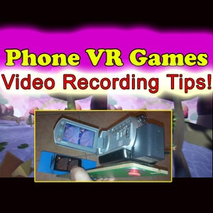 IPhone Android Google Cardboard VR 3D Gaming Video-Recording Rig!