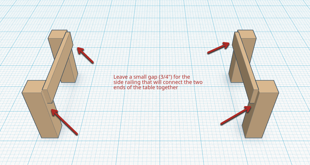 Picture of Attach the Legs and Side Joiners
