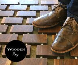 Wooden Rug