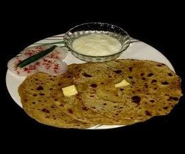 Aloo Paratha | Potato Stuffed Indian Flatbread
