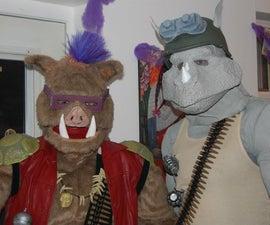Bebop & Rocksteady Costumes