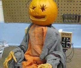 The Electric Chair Pumpkin
