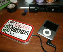 Portable ipod speaker with LEDS!!!