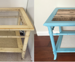 Furniture Makeover for Less Than $10