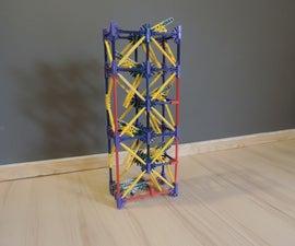 Knex Ball Machine Element: Basic Zig Zag