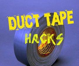 Useful Duct tape hacks