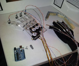 Arduino Robotic Hand with Haptic Feedback