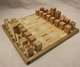 The Poplar and Plywood Chess Set