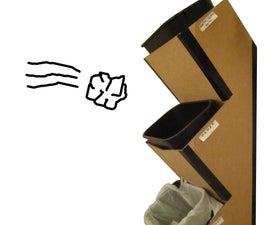 Cardboard Waste Tower