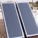 Calentador solar casero - Fabricar calentador solar casero de circulación forzada