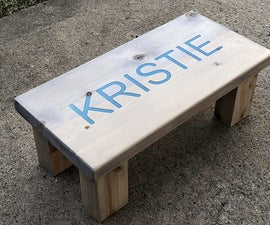 Using a CNC Router and Laser to Build a Custom Step Stool.