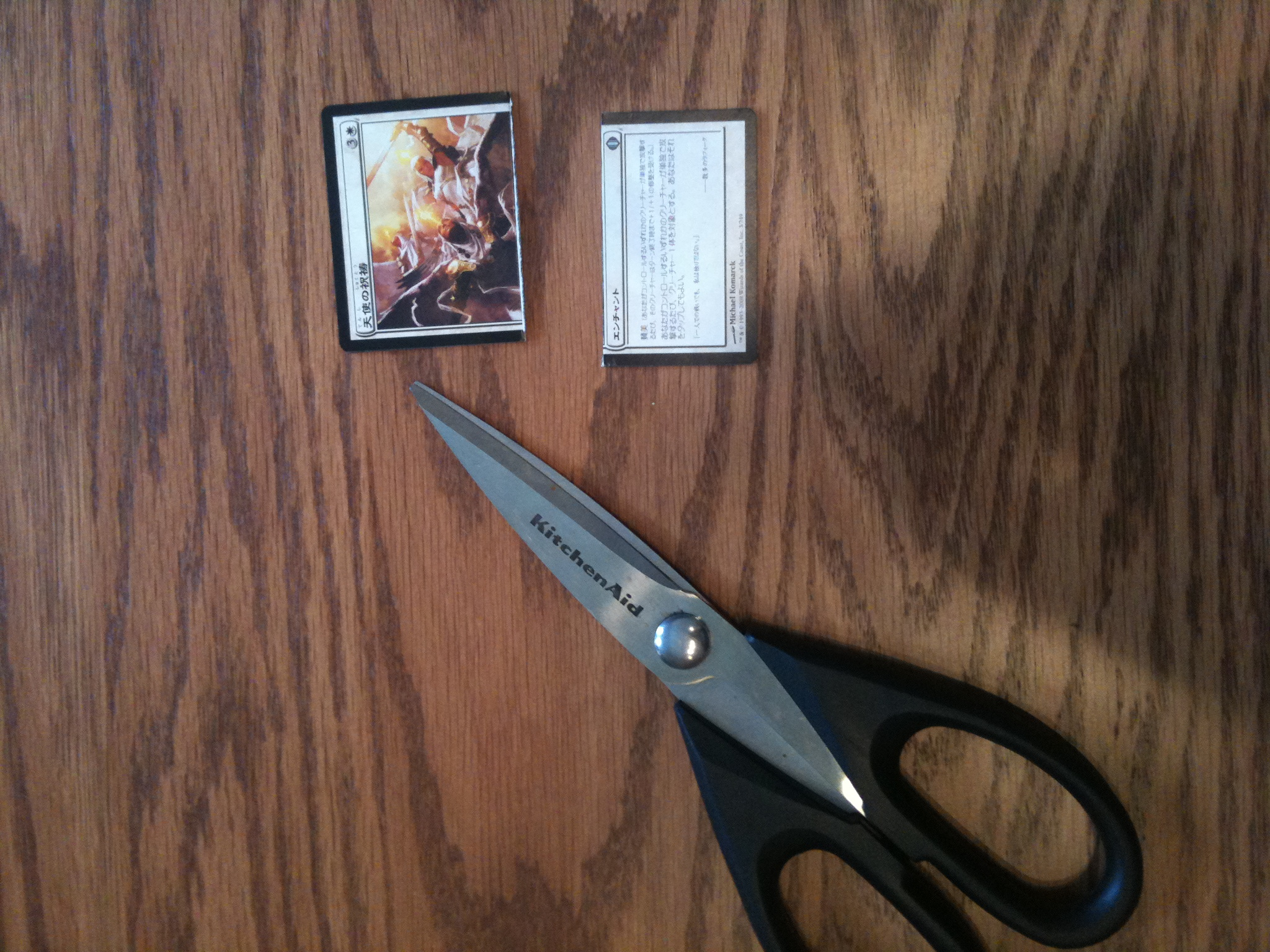 Picture of Step 4 - Cutting the Cards