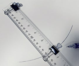 An Accurate Drafting Compass From Office Supplies