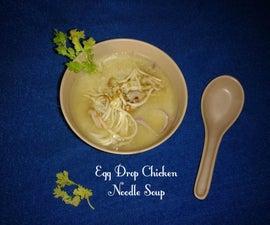 Egg Drop Chicken Noodle Soup