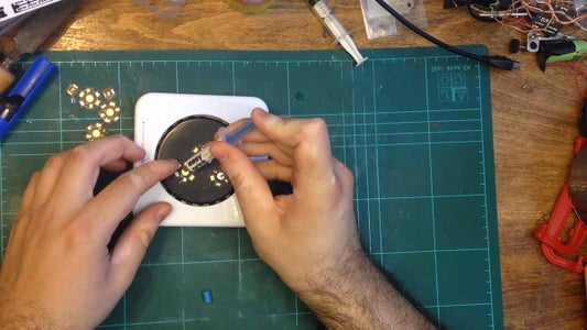 Pre-tinning the PCB and Dabbing Solder Paste