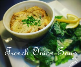 French Onion Soup - An easy guide to make a single serving of French Onion Soup