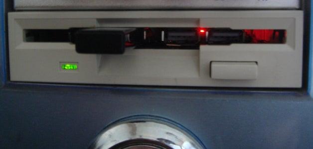 Floppy USB + Hidden Secret Drive