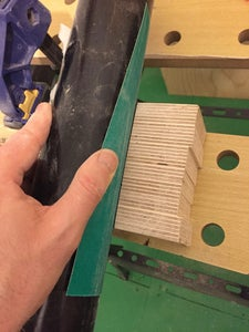 Glue Up and Trim the Base to Size
