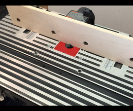 Zero Clearance Router Fence