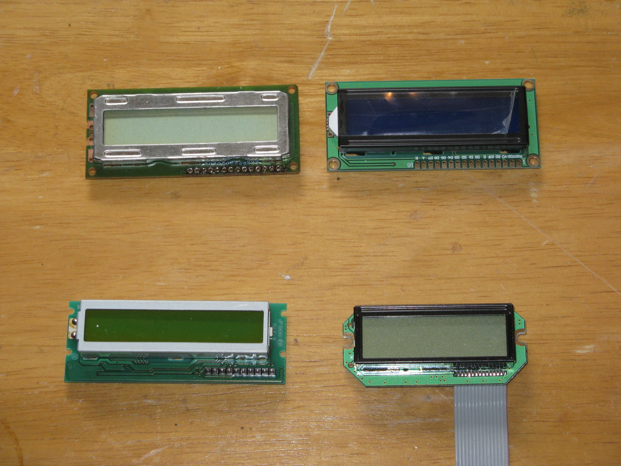 Picture of The Liquid Crystal Displays