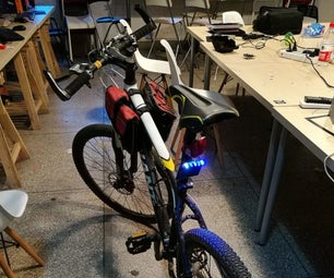 Solar Bicycle Taillight