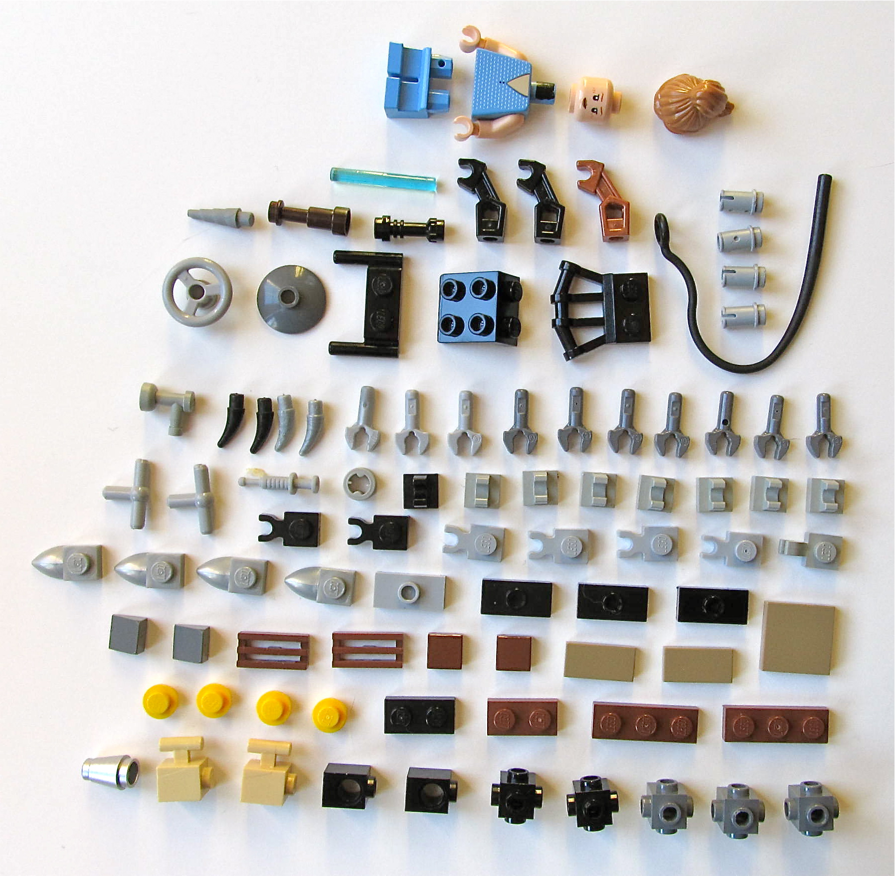 Picture of LEGO Elements for Big Daddy & Little Sister