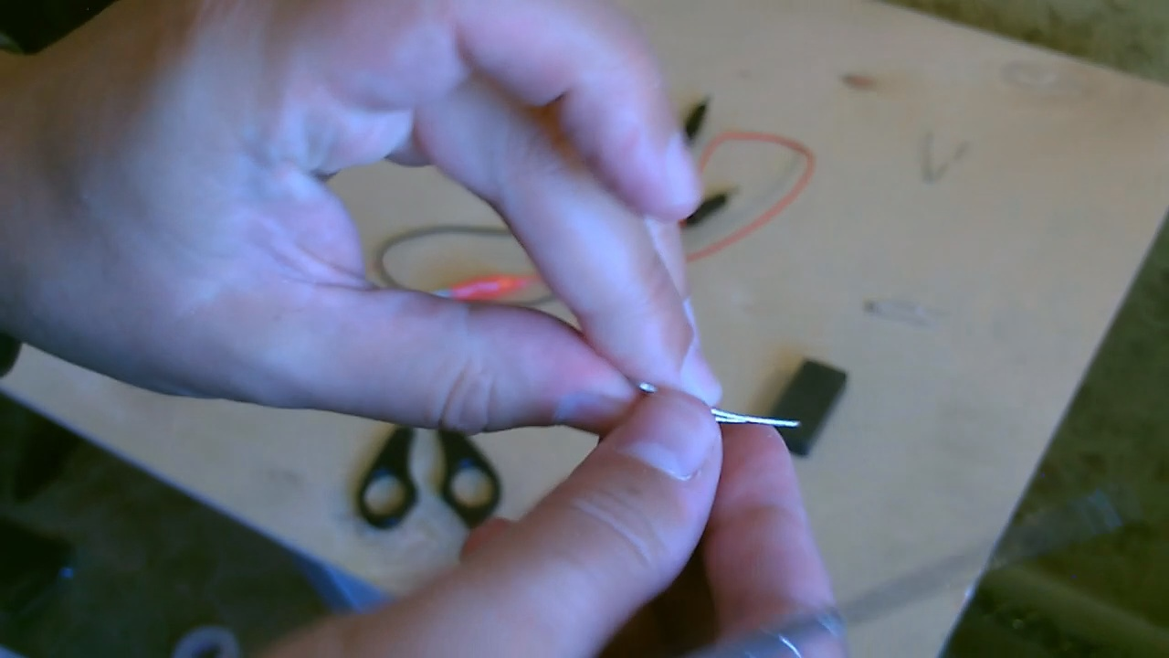 """Picture of Now """"shape"""" the Paperclips..."""