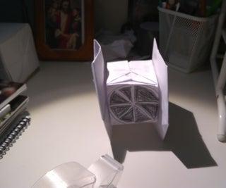Origami TI-Fighter