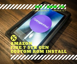 Custom ROM + Rooting - Amazon Fire 7 5th Gen