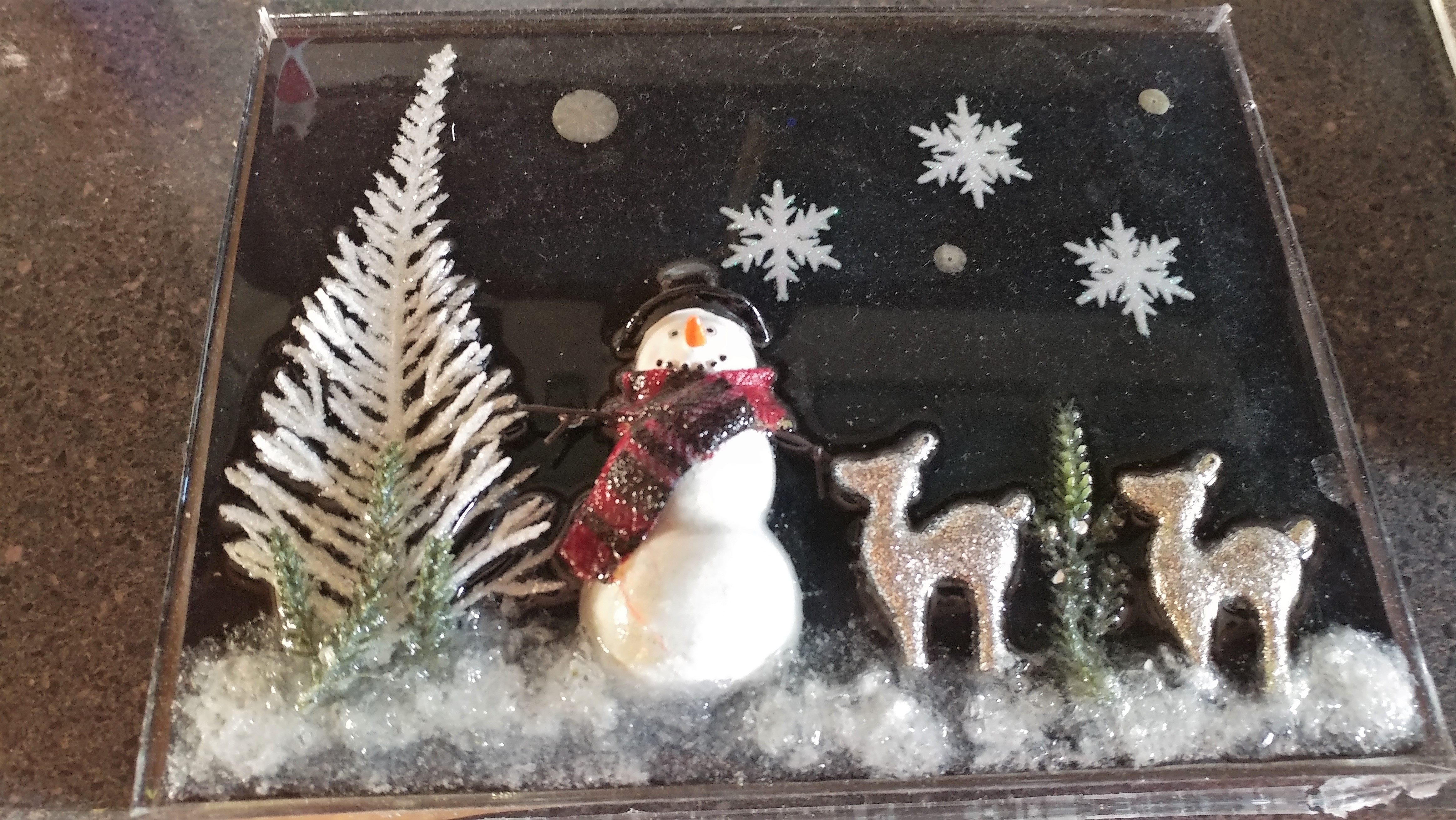 Picture of 3D LED HOLIDAY PLAQUE