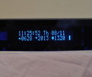 Solar-Oriented, Arduino-Powered Clock