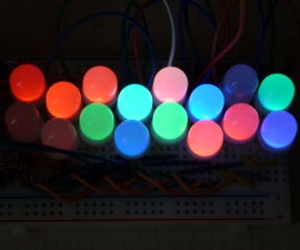 LED Multiplexing 101: 6 and 16 RGB LEDs With Just an Arduino