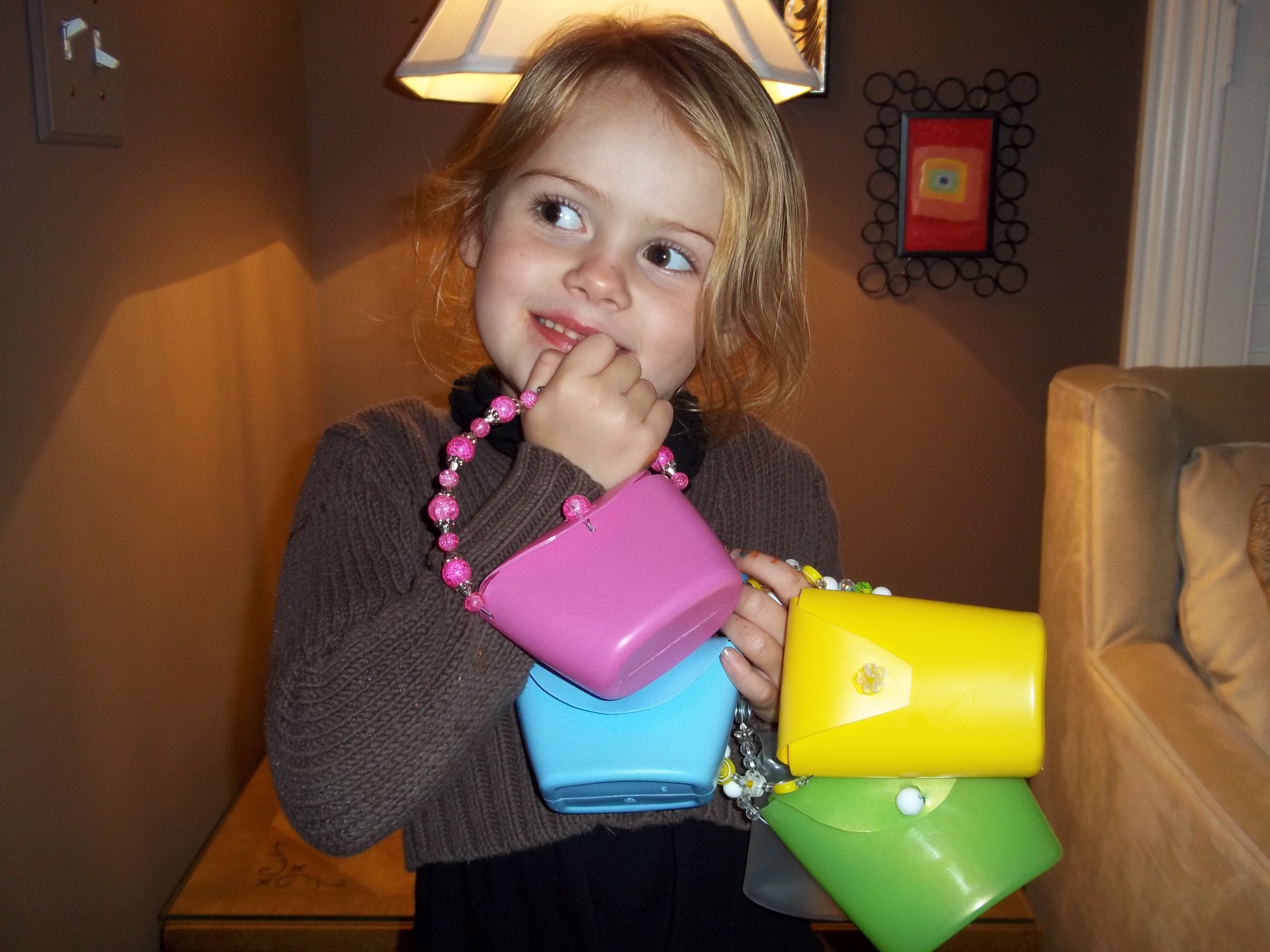 Picture of FUN LITTLE PURSE: Recycle Crafting