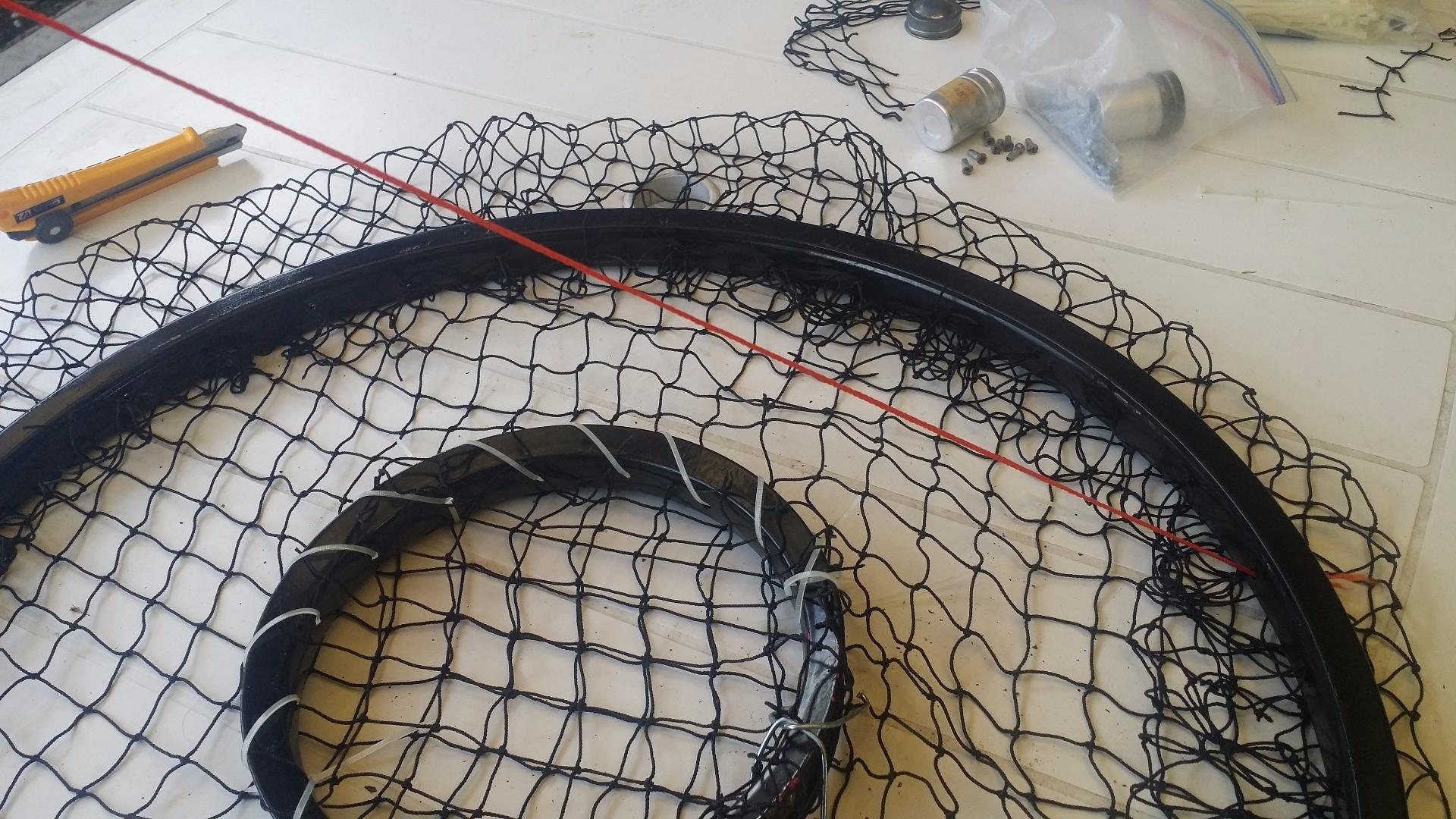 Picture of Bike Rim Crab Trap