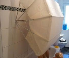 """""""Wet Turtle"""" Shower Curtain"""