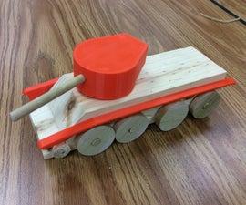 Elementary Wooden Design Challenge