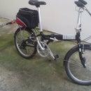 No Weld, Lightweight, Foldable Urban Bike Trailer