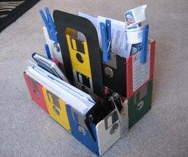 Floppy Disk Bill Caddy