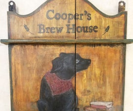 Ye Olde Tavern Sign