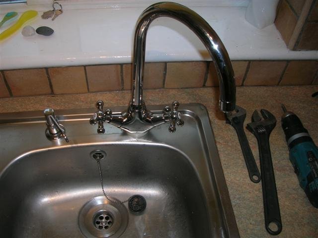 Picture Of How To Change A Kitchen Tap