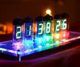 OpenVFD: 6-Digit IV-11 VFD Tube Clock