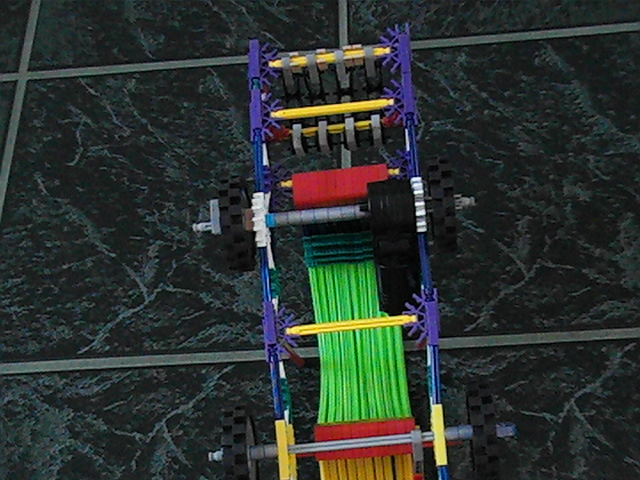 Picture of K'nex Motorized Car