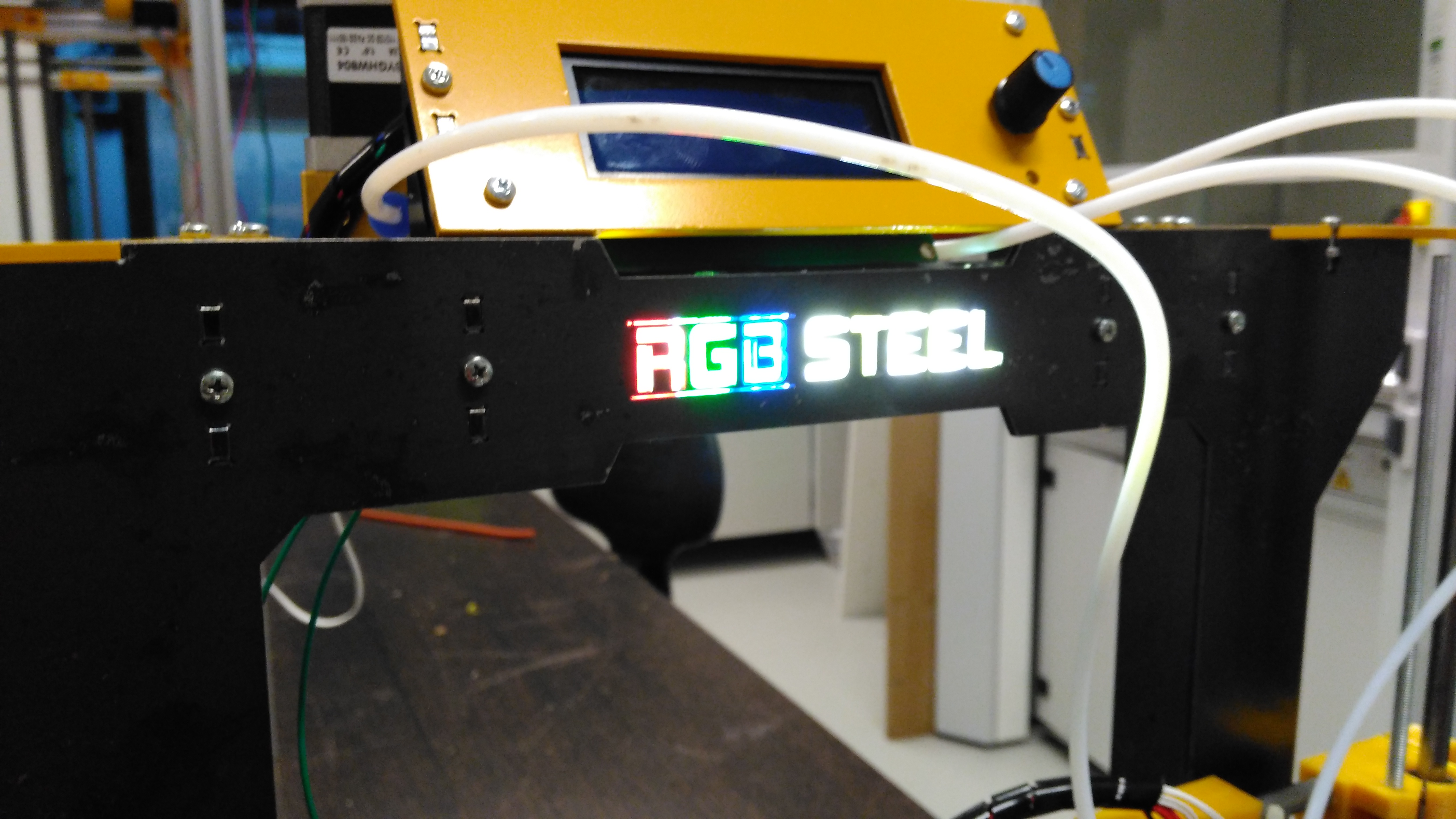 Picture of RGB Logo Back-Light