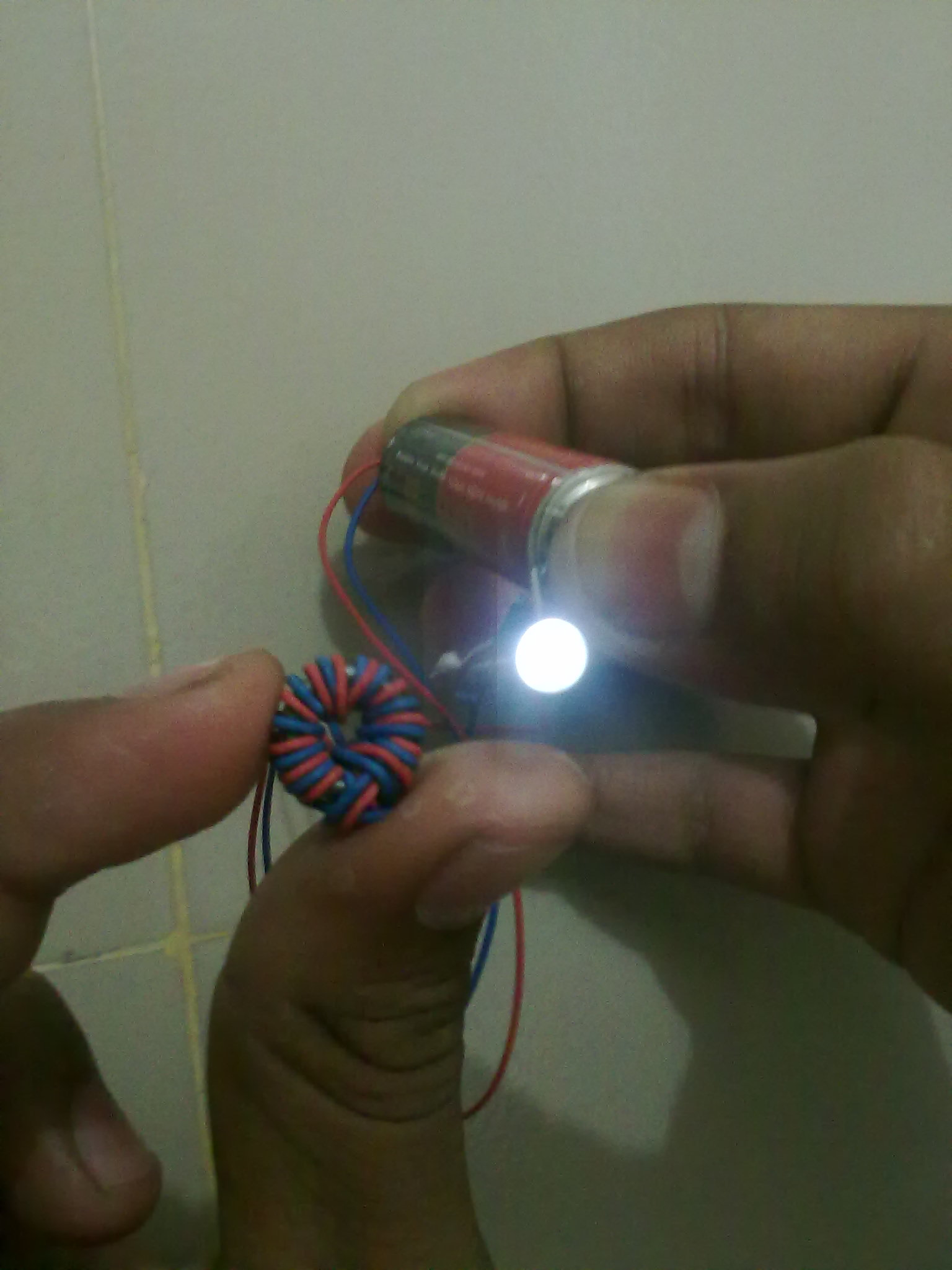 Picture of Make a Joule Thief Easily