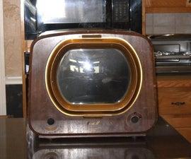 Rescue a vintage TV cabinet